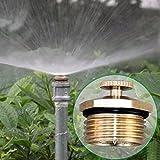 Lunji Garten Sprinkler- Automatische Rasen Wasser Sprinkler, Verstellbare Rasen Bewässerungssystem, Sprühdüse Missing (2 Stk)