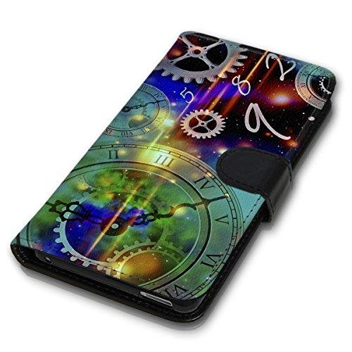 Wallet Book Style Flip Handy Tasche Case Schutz Hülle Schale Motiv Etui für Apple iPhone 6 Plus / 6S Plus - Variante UMV17 Design12 Design 7