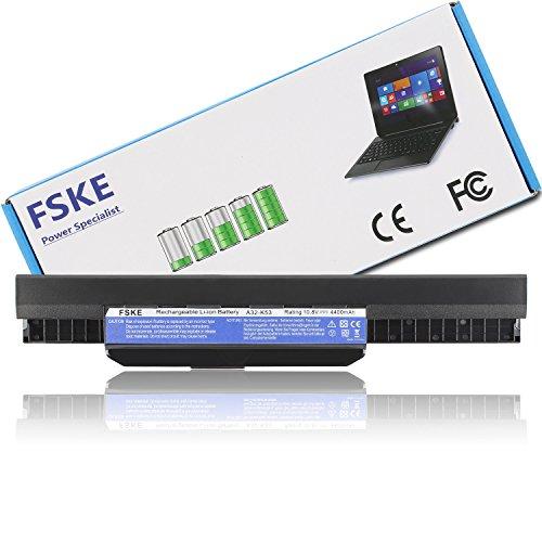 FSKE® A32-K53 A41-K53 Batería para ASUS K53S K53 A53S X54C X54H X53S K53SV K53SC A53E X53E K53E K53U Serie Notebook Battery, 6-Celdas 10.8V 4400mAh