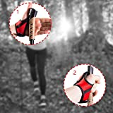 Nordic Walking Stöcke Classic Teleskop Verstellbar inkl. Nordic Walking App Wanderstöcke mit Anti-Shock Dämpfung - 4