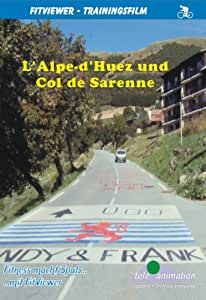 L' Alpe-d'Huez and Col de Sarenne - FitViewer Indoor Video Cycling France