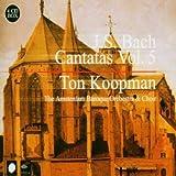 J.S. Bach: Cantatas, Vol. 5 by Ton Koopman (2004-09-07)