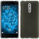 PhoneNatic Case für Nokia 8 Hülle Silikon clear matt Cover 8 Tasche Case