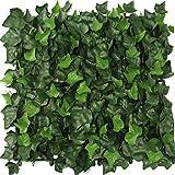YNFNGXU Künstliche Hecke UV-Schutz Sichtschutz Mit Gartenzaun Hinterhof Dekoration Pflanze Wand 50x50cm (Color : 01)