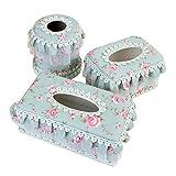 3PCS Kreative Pumping Tray Heim WC Wohnzimmer Tissue Box-Halter-Abdeckung