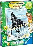 Ravensburger 28092 - Pferd am Strand - Malen nach Zahlen, 18 x 24 cm