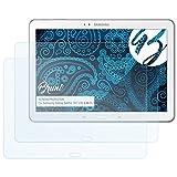 Bruni Schutzfolie für Samsung Galaxy TabPro 10.1 (LTE & Wi-Fi) Folie - 2 x glasklare Displayschutzfolie