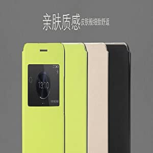 Huawei Honor 6 Plus Rock Touch Series Leather Flip Case-Black