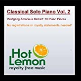 Classical Solo Piano Vol. 2 by Hot Lemon Royalty Free Music