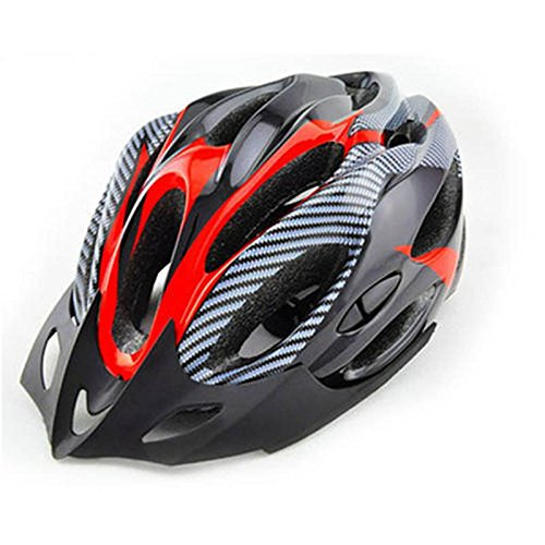 Outdoor Director Fahrradhelm Professional Giant Fahrrad Capacete Ciclismo (Farbe : Rot)