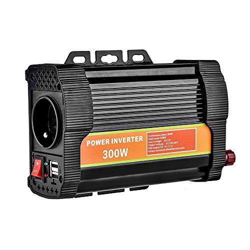 WZTO Convertisseur 12V 220V Transformateur 300W/600W...
