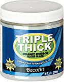 Deco Art Triple Thick Brilliant Brush-On Gloss Glaze 8oz-, Other, Multicoloured