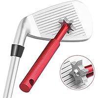 Herramienta Histar afiladora y limpiadora de surcos del palo de golf con 6cabezales, productos especializados de golf, rojo