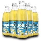 Pure Nutrition LIQUID EGG WHITES | Unflavored 1kg Premium Quality | Eiklar Flüssig Bio Eiweiß | Low Carb Diät Muskelaufbau | Liquid Egg Protein Shakes | Omelettes Kochen und Backen | 5 x 1000 ml