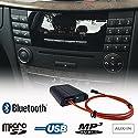 Mercedes Benz Bluetooth Freisprecheinrichtung A2DP USB SD AUX MP3 WMA Player Faser Adapter Interface Auto Kit A B C E Class Audio 20 50 Comand