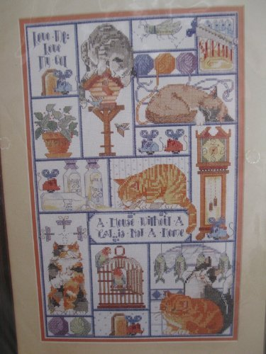 Cat, Cats, Cats Counted Cross Stitch by Bucilla -