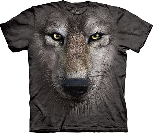 The Mountain Maglietta Wolf Face Anima Bambino Unisex M