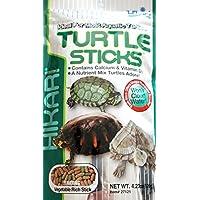 Hikari Reptile Turtle Sticks 120 gr - Mangime completo galleggiante, specifico per tutti i tipi di tartarughe acquatiche e anfibi