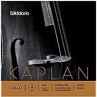 D'Addario KS511 4/4L - Cuerda para violonchelo de titanio en La, 4/4 (tensión baja)