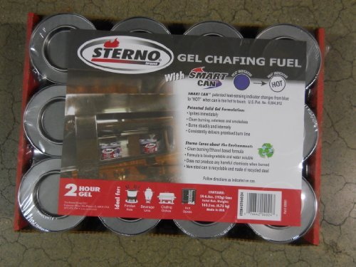 Sterno Gel Crafing Fuel 2 Hour 24 Count by sterno Sterno-gel