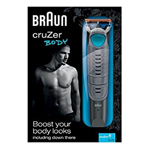 Braun CruZer6 Body Trimmer with Gillette Fusion Razor Blade