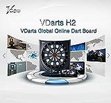 Dartprofi Global Online Dartboard H2 VDARTS