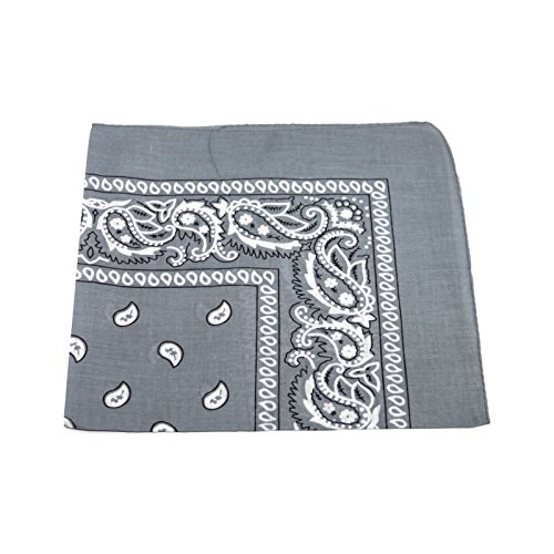 53x53 cm Seiden-Schal Damen Halstuch Vierecktuch Bandana Tuch Kopftuch Bikertuch