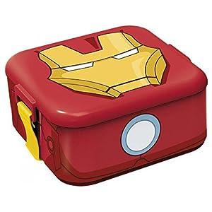 Sandwichera Iron Man Los Vengadores Marvel