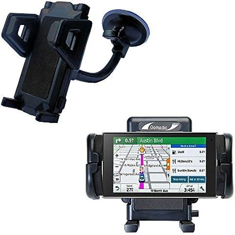 Garmin DriveLuxe 50LMTHD Alloggiamento per Parabrezza per Auto Alloggiamento Flessibile con Ventosa per Auto