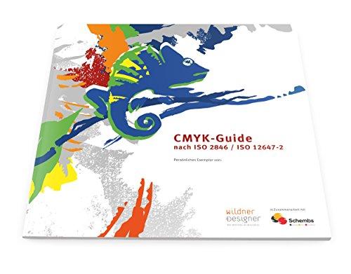 CMYK-Guide/Euroskala nach ISO 2846/ISO 12647-2 (1) (Papier Themen-drucker)