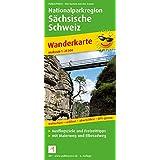 Wanderkarte Nationalparkregion Sächsische Schweiz: Mit Malerweg und Elberadweg, wetterfest, reissfest, abwischbar, GPS-genau. 1:25000