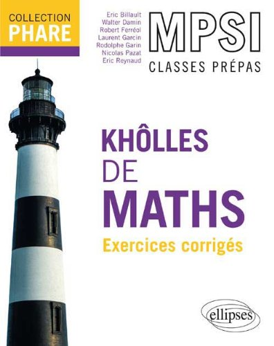 Kholles De Maths Mpsi Exercices Corriges Pdf Download