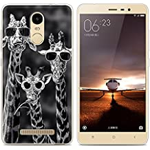 Xiaomi Redmi Note 3 Pro Prime Special Edition case, Heyqie(TM) Thin Transparent TPU Silicone Deer Pattern Soft Back Phone Cover Case For Xiaomi Redmi Note 3 Pro Prime Special Edition 152 mm