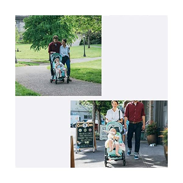 Tao-Miy Lightweight Stroller Buggy, Travel Buggy with Reclinable Backseat Easy Fold Compact Airplane Stroller, (0-36 Months) Tao-Miy ★〖Comfort〗 Multi-range adjustment seat, convenient for your baby's various needs, can sit and recline, height adjustable seat belt, suitable for different heights of the baby. ★〖Safety〗 High-strength load-bearing suspension frame structure, effectively disperse and mitigate vibration; built-in spring shock absorption on the front wheel, freely adjust according to road conditions, reduce vibration. ★〖More convenient〗 The body is made of new lightweight aerospace aluminum alloy, which can be taken on board, high-speed rail and bus. Easily put into the trunk of your car. As soon as you it, you will receive it. 5