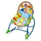 CWLLWC Fauteuil à Bascule bébé, bébé bébé berçant inclinable Bleu bébé Chaise Fauteuil de Massage électrique