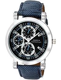 Oreca Analog Black Dial Men's Watch- GT7010