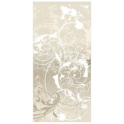 Apalis Panel japones Pearl Ornament Design 250x120cm | Paneles japoneses separadores de ambientes Cortina Paneles japoneses Cortina Cortinas | Tamaño: 250 x 120cm Incl. Soporte de Aluminio magnético