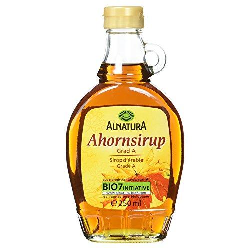 Alnatura Bio Ahornsirup, Grad A, vegan, 1er Pack (1 x 250 ml) Test
