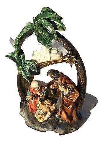 Herkunft Weihnachten Heilig Familie Dekoration Teelicht Halter Baby Jesus, Maria, Joseph