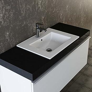 Einbau-Waschbecken 2 Becken Col04 Waschtisch Waschplatz