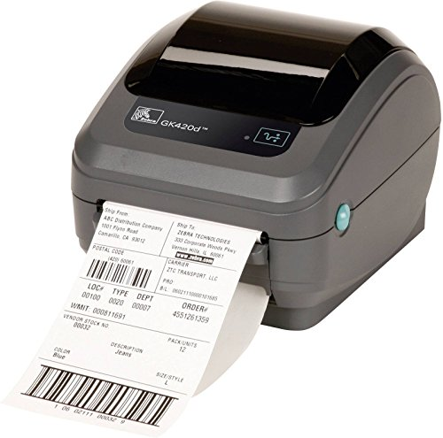 Zebra GK42-202520-000 DT Drucker GK420D, 203 dpi (Color Scanner Portable)