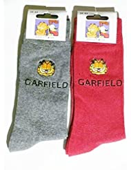 Chaussettes Garfield brodées
