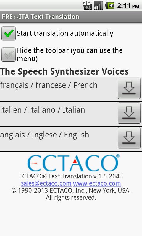 Translator Italian: French Full Text Translator: Amazon.co
