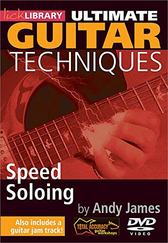 Preisvergleich Produktbild Ultimate Guitar Techniques: Speed Soloing [DVD] [Import]