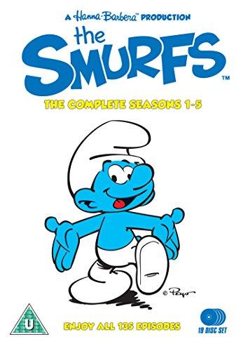 The Smurfs - Seasons 1- 5 Box Set (19 Disc Set) [DVD] [Edizione: Regno Unito]
