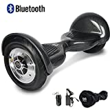 Cool&Fun 10' Smart Hoverboard Monopattino Elettrico Scooter con Due Ruote 10', con...