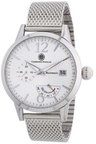Constantin Durmont Men's Watch Papillon CD-PAPI-AT-STM3-STST-WH