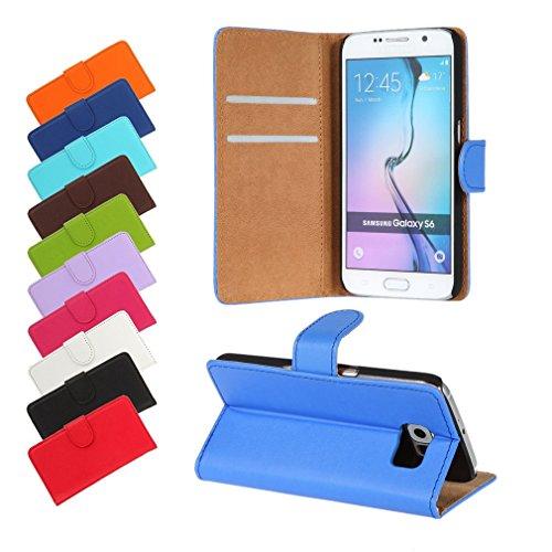 BRALEXX A12645 Bookstyle Tasche für Samsung Galaxy S6 920F blau