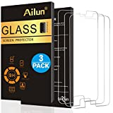 Galaxy S6 Screen Protector,[3 Packs]By AILUN,Tempered Glass,Samsung Galaxy S6,9H Hardness,2.5D Edge,Anti-Scratch,Case Friendly-Siania Retail Package
