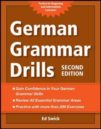 Preisvergleich Produktbild German Grammar Drills (NTC Foreign Language)